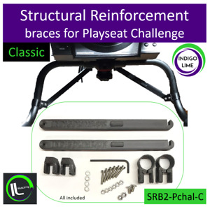 Playseat Challenge Wheel Plate Structural Reinforcement braces. Classic