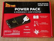NEW Power Probe PPBJP03GS Black Power Pack w/ Emergency Battery Jumper