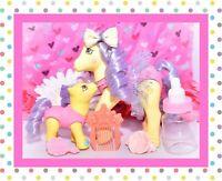 ❤️My Little Pony G1 Vtg Sweetsteps Ballerina TWINKLE DANCER & Baby TOE DANCER❤️
