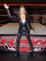 Stephanie McMahon - Basic Series 51 - RARE WWE Mattel Wrestling Figure