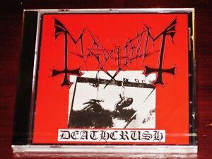 Mayhem: Deathcrush CD 2006 Death Crush Deathlike Silence DSP Anti-Mosh 003 NEW