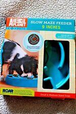 Dog MAZE Feeding Dish 9 Inch Animal Planet Slow Feeder BOWL RESTRICTED  NEW PET