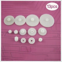 hobby plastic gears cog wheels worm & gear set for children gifts