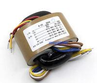 30VA HIFI R-core Transformer  0-220V  to 0-9V  0-9V  0-9V  0-9V   (AC9V*4)
