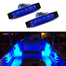 New listing Marine Led Light Courtesy & Utility Strip for Boats 12 Volts Blue(Pair of 2)