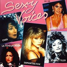 Sexy Voices Samantha Fox, Sabrina, Amanda Lear, Cher, Tiffany, La Toya Ja.. [CD]