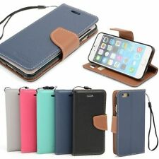 Synthetic Leather Mobile Phone Flip Cases