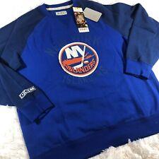 New York Islanders NHL CCM Vintage Fleece Crew Sweatshirt Sz XL Mens $75 Hockey