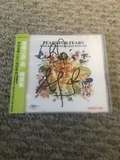 "Tears For Fears ""Tears Roll Down"" SIGNED/AUTOGRAPHED CD Booklet. Japanese OBI"