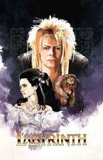 David Bowie Labyrinth Movie Poster Art #2 Sticker or Magnet