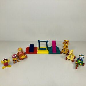 Vintage 1986 McDonald's Happy Meal Toys Muppet Babies