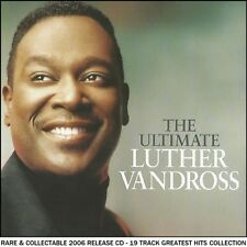 Luther Vandross Very Best Greatest Hits Collection RARE CD 80's 90's Soul R&B