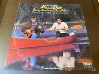 Jerry Reed & Chet Atkins~Me and Chet~VG++ Country Bluegrass Guitar Folk LP~INNER