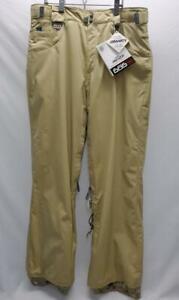 686 Smarty Jacuzzi Snowboard Snow Ski Pants Men's Khaki XL NEW