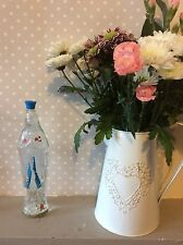 Vintage French Holy Water Mary Lady Of Lourdes Bottle With Some Holy Water