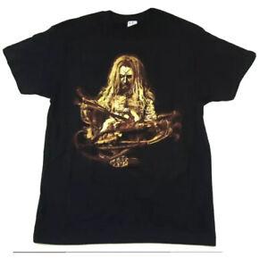 Rare 2016 ROB ZOMBIE Concert tour Shirt Band Horror Music Movie Promo Halloween