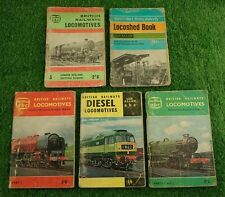 Ian Allan ABC Locomotives Handbooks Bundle (All used with pen marking inside)
