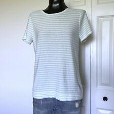 Medium - J.CREW Womans Striped Short Sleeve Sweater
