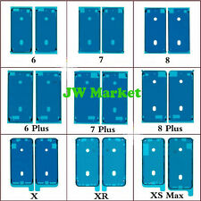 LCD Screen Adhesive Tape Frame Bezel Seal For iPone 6s 7 8 X XR XS Max 11Pro Max
