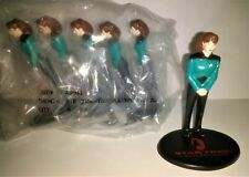 "Lot of 6 - STAR TREK 1994 Applause PVC 3"" Figure Deanna Troi TNG Generations"