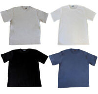 NEW Men's Plus Sizes Plain Basic T-SHIRT Casual White Black 3XL-6XL