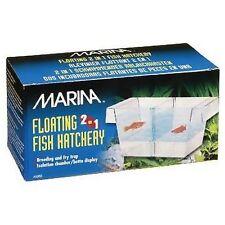 Marina 2 En 1 Flotante Criadero de peces de cría de la Comunidad Acuario Tanque