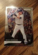 2020 Prizm Nico Hoerner Rc NM Chicago Cubs Stanford Cardinal