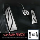 3pcs Car Foot Rest Gas Brake Pedal Pad Cover Trim For Bmw 3 5 Series F30 Parts