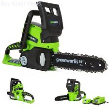 Chainsaw Cordless Battery Powered New Garden Outdoor Power Equipment Trimmers