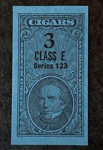 R1/5 US Revenue Stamp Cigar 1953 Series 123 Class E 3 MNHNGAI Incredible Center