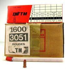 1600 x Spit TM 3051 calibre RED 6 vtg