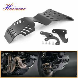 Engine Base Chassis Guard Cover Skid Plate BK For DUCATI Scrambler 800 2015-2021