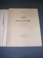 Mérimée Les ames du purgatoire 1948 numéroté gravures de Guezennec emboitage
