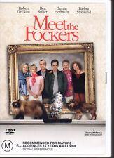 MEET THE FOCKERS - DVD R4 - (2005) Ben Stiller Robert De Niro - LIKE NEW