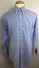 Brooks Brothers Men's L/S Button Down Shirt Sz. 16 34 Blue Denim J
