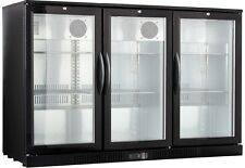 "54"" Wide 3-door Back Bar Beverage Cooler ( Free Shipping )"