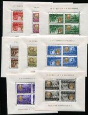 UNGARN 1947 985-992 K KB ** POSTFRISCH KLEINBOGEN mit KEHRDRUCK TADELLOS (H5379