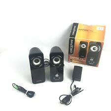 Creative Inspire T12 2.0 + Bass Flex Black Wired Computer Desktop Speakers