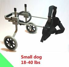 Dog Wheelchair, Small size 3 R approx. 18-40 lbs, New, ready to ship