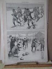 Vintage Print,MONTREAL CARNIVAL,Harpers,Feb 1884