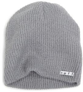 Neff Men's Daily Beanie Gray Headwear Cold Casual Snowboard Ski Clothing Apparel