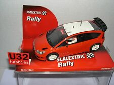 SCALEXTRIC CITROEN C4 WRC STREET CAR RED WHITE LTED.ED.500UNITS  MB