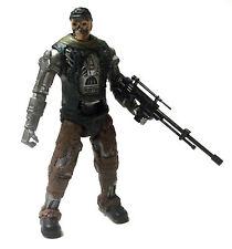 "TERMINATOR  ENDOSKELETON Movie Film  6"" Figure with Gun NICE!"
