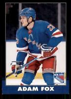 2020-21 UD O-Pee-Chee Retro Black Border #471 Adam Fox /100 - New York Rangers