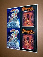 New listing Frank Brunner Production Art Full Color Cover Art 'The Brunner Mystique' 17x23
