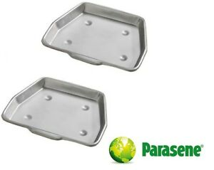 """Bakaware Metal Fireplace Ash Collect Tray Pan Fire Stove Grate Tidy 11.5"""" / 13"""""""