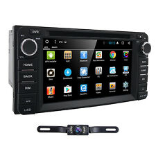 "6.2"" Android Car DVD Player Radio Stereo GPS for Toyota Camry 2002-2006+Cam"