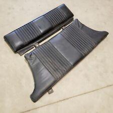 1969 MG MGB GT Original Rear Seat Set OEM