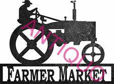 CNC Vector DXF Plasma Router Laser Cut DXF- tractor Farmer market Cutting Art