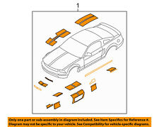 FORD OEM 07-08 Mustang-Striping Kit-Stripe Tape 7R3Z6320000GA